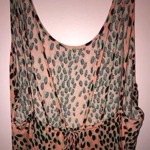 Strappy Swim Cover Dress